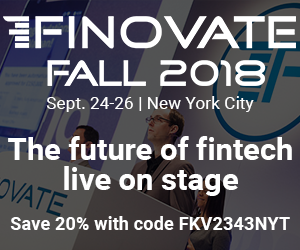 FinovateFall 2018 @ Marriot Marquis Times Square | New York | New York | United States