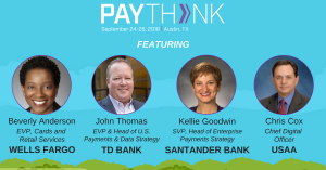 PayThink  2018, September 24-26 in Austin, TX. @ Hyatt  Regency Austin