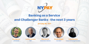 Banking as a Service and Challenger Banks - the next 3 years @ Virtual (Zoom)